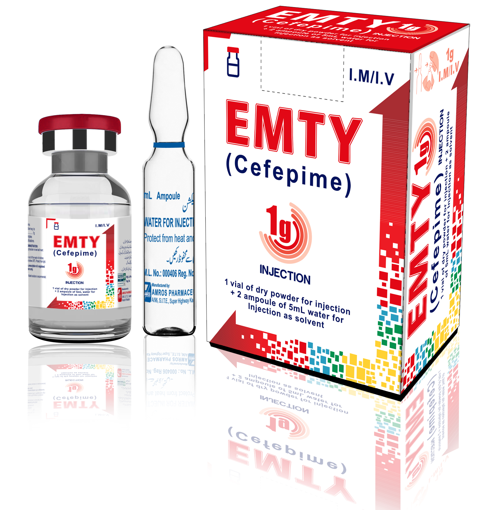 Emty 1g Injection