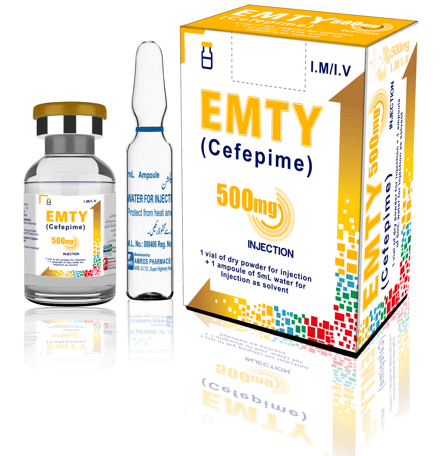 Emty 500mg Injection