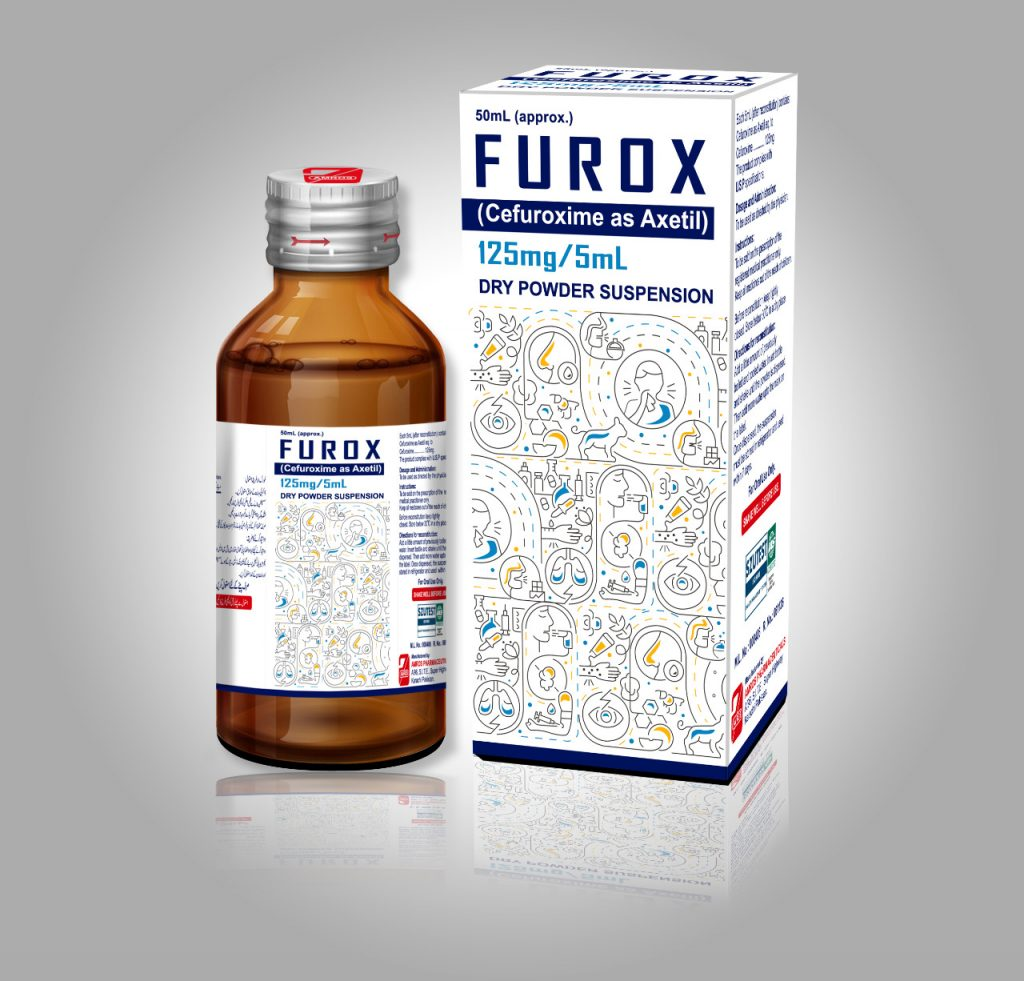 FUROX 125mg/5mL Dry Suspension Cefuroxime as axetil 125mg